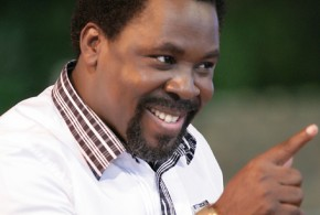 T.B. Joshua links building collapse that killed 17 to strange aircraft