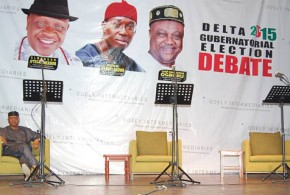 XCLUSIVE – Why Okowa Chickened Out of Delta State Gubernatorial Debate: Inside Story!