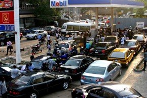 Fuel Scarcity:  Petrol Sells N2,500 a gallon in Black market