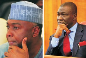 Saraki Elected Senate President, Ekweremadu Returns as Deputy